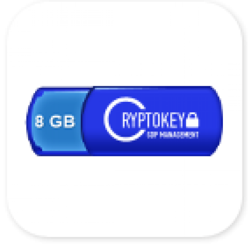 Microinvest CryptoKey GDPR Management 8GB
