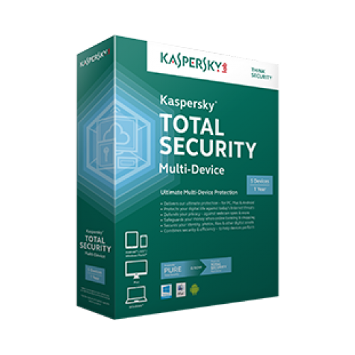 Антивирусна програма Kaspersky Total Security New